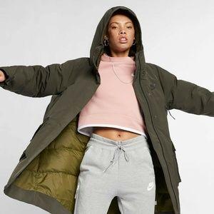 Nike Sportswear Tech Pack Down Fill Parka Small Se